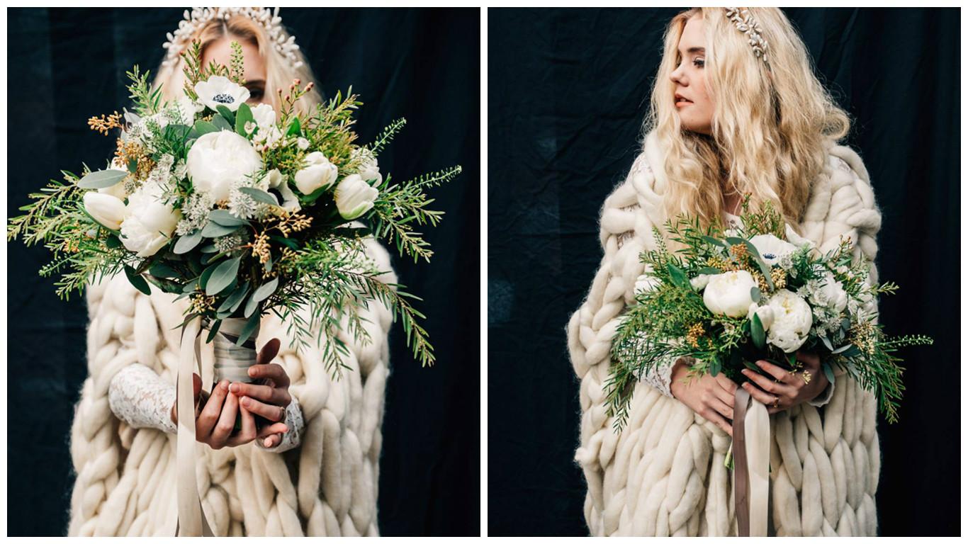 maison floret mariage hiver